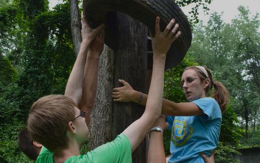 teamwork challenge course